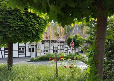 Gaststätte Oedinger Korschebroich - die Gaststätte von Außen