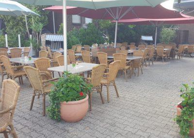 Gaststätte Oedinger - Der Biergarten und die Terrasse