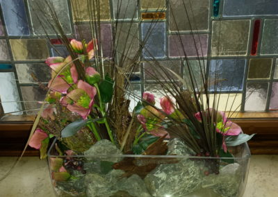 Blumengesteck Fensterbank