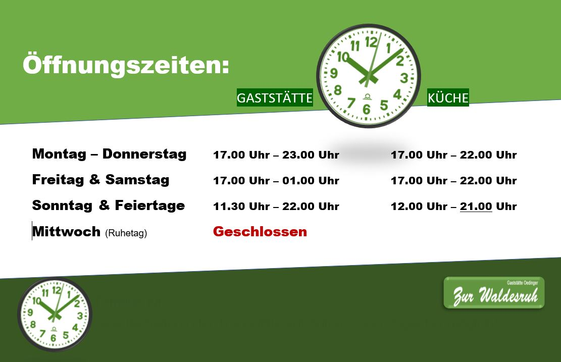 Öffnungszeiten-Waldesruh-Korschenbroich